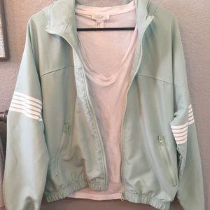 F21 Mint Green Jacket